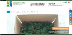 designer plants web design